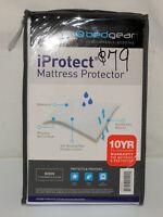 "Bedgear iProtect Complete Bed Protection Waterproof Mattress Pad Queen 18"" NIB"
