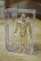 Vintage Star Wars C3-P0 AFA Graded Fixed Limbs 1977 Kenner Not CAS UKG