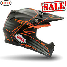 Bell Moto 9 Carbon Pinned Orange Motocross, Mx, Enduro, Offroad Helmet  Sale On