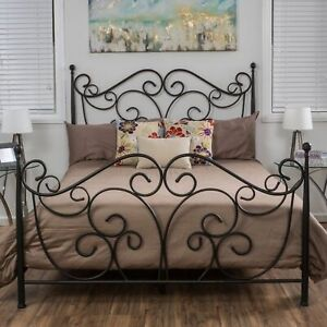 Horatio Queen Size Iron Bed