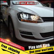 Per VW golf7 Fari Assemblaggio Bi-Xenon Lente Doppio Fascio Kit Hid 2013-2015