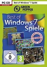 BEST OF WINDOWS 7 SPIELE * 30 VOLLVERSIONEN  Sehr Guter Zustand