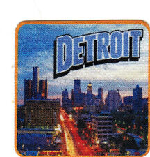DETROIT Iron On Printed Patch Michigan Great Lakes