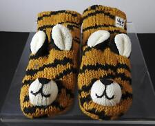 Knitwits Handmade WWF Tiger Animal Mittens Youth/Adult (6+) GY13
