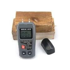 Digital LCD 4 Mode Wood Moisture Humidity Damp Meter Detector Tester 0% - 99% CN