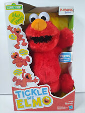 Playskool Friends Tickle Me ELMO Sesame Street Plush Tummy Laugh Kids SHIPS FREE