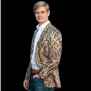Camouflage Sportcoat Camo Blazer Camo Suit Jacket Mossy Oak Shadow Grass Blazer