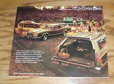 Original 1977 Ford Station Wagon Sales Brochure 77 LTD LTD II Pinto