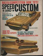 Speed and Custom Magazine - August 1963 - Pontiac 'Bobcat' - FREE SHIP!