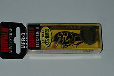 Rapala MFR 3 Black Yellow Camo Mini Fat Rap Japan Special CMBY