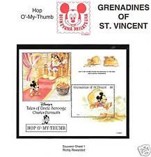 ST. VINCENT # 976 MNH DISNEY RICHLY REWARDED