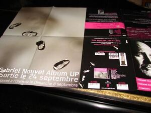 PETER GABRIEL UP!RARE FRENCH PRESS/KIT/POSTER!!!!!!!!!!