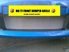 MG TF MGTF CHROME FRONT BUMPER GRILLE MESH  INSTRUCTION
