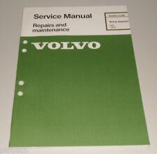 Wiring Diagrams / Schaltpläne Volvo 260 Stand 1978