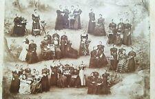 Münster 1898 Foto , Pansionat Friedrichsburg, sehr Gross , selten