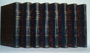 MEMOIRES EUGENE DE BEAUHARNAIS par DU CASSE - 1858 -8 volumes /10 -Bon ex
