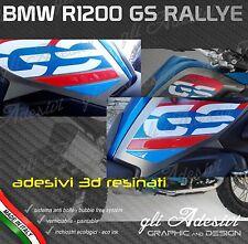 2 coppie Adesivi Protezione Resinata 3D BMW R 1200 GS LC 2017 RALLYE EXCLUSIVE