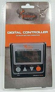 Wildgame Innovations Digital Timer Controller for Deer Feeders 6V or 12V TH-DT