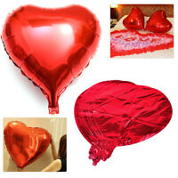 10x 18 inch Red Love Heart Foil Helium Balloons fit Wedding Birthday Engagement