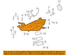 MAZDA OEM 09-10 6-Headlight Head Light Headlamp GS3M51041G