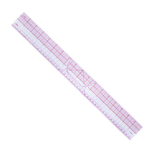 Plastic Sewing Tailor Shared Double Side Metric Straight Ruler Cutting RuleY.ar