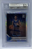 2019-20 Optic BRANDON CLARKE Silver Prizm Wave RATED ROOKIE #194 BGS 8.5 NM-MT+