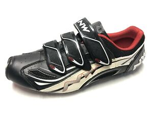 Northwave Typhoon Evo Mens Cycling Shoes Sz 9 in excellent condition