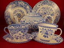 Set of 2 Teacups,1 Teapot, 2 Plates Cardboard Cutouts