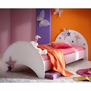 Kinderbett FEE pink rosa weiß Spielbett BETT Prinzessin Kinderzimmer Mädchen Neu