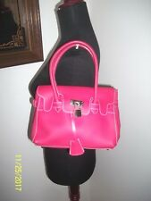 Used Pink Plastic Jelly Shoulder Bag