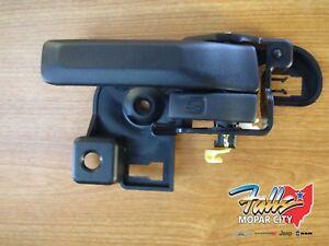 Color : Black LYJUN/® Inside Door Handles Interior Par de Izquierda y Derecha 55176477Ab 55176476AB para 1987-2004 Jeep Wrangler YJ TJ