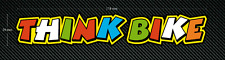THINK BIKE - ROSSI THE DOCTOR Style Stickers 2 x 174mm x 29mm Printed/laminated