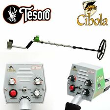 "Tesoro Cibola Metal Detector with 11"" x 8"" Search Coil"
