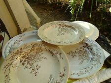 Antique Victorian  Plates Trentham Ro No 77306 Lot of 6