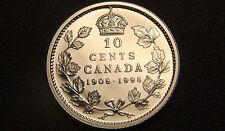 1908-1998 Canada SILVER PROOF 10 Cents Coin - Very SCARCE Mirror Finish Cdn 10¢!