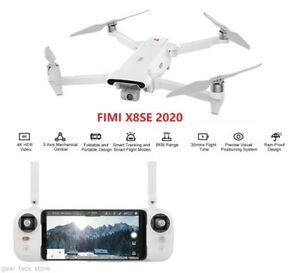 2020 FIMI X8 SE 8KM WIFI FPV 4K Camera 3-axis Gimbal With GPS Folding RC Drone