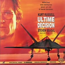 LASERDISC - ULTIME DECISION WS VF PAL- Kurt Russell, Halle Berry, Steven Seagal