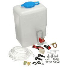 12V Universal Car Windshield Washer Reservoir Pump Bottle Kit Set Jet Switch USA