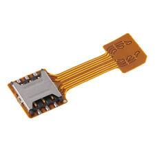 Dual SIM Card Adapter Extender Nano SIM Converter for Samsung Mobile Phone