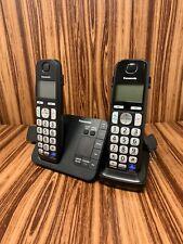 Panasonic KX-TGE230 Cordless Phone Answering System 2 Handsets KX-TGEA20