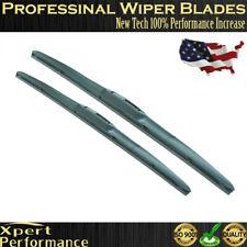 """22"""" & 24"""" Premium   Windshield Wiper Blades  OEM Quality J-Hook"""