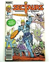 MARVEL / Star SECTAURS WARRORS OF SYMBION (1985) #1 Key 1st App Ships FREE!