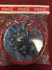 New Coca Cola Polar Bears Round Metal Tray 1993 New In Package
