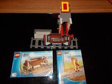 Lego® City Eisenbahn - RC - aus 3677 - Set 4 + 5 - Verladestation + Güterwagen