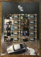 Official Royal Mail James Bond No Time To Die Stamp Smilers Sheet Released 2021