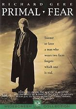 PRIMAL FEAR (DVD, 2009) Richard Gere / Edward Norton / CRIME MYSTERY / FREE POST