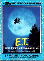 1982 TOPPS E.T.  - PICK CHOOSE YOUR CARDS