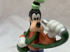 Disney Goofy Figurine With Water Hose Porcelain Walt Disney Ceramic
