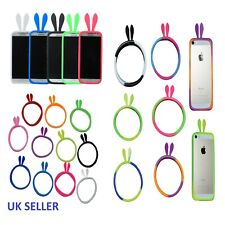 Silicone Phone Case iPhone,Samsung Bunny Ears Cell Bumper Soft Cover Universal