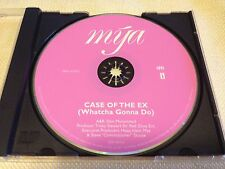 MYA CASE OF THE EX 4 TRACK RARE OOP PROMO CD NM FREE SHIPPING